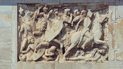 Photograph - Relief Detail by JAMART Photography