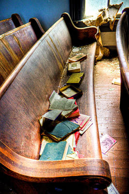 Photograph - Religion Abandonded by Jonny D