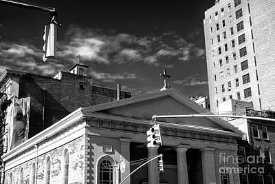 Photograph - Religion In Greenwich Village by John Rizzuto