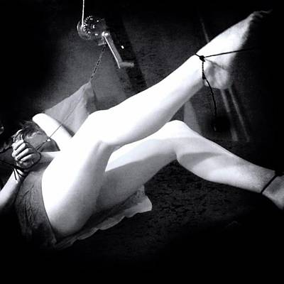 Dungeon Photograph - Relinquishing Control Is A Thrill Most by Noir Fatale