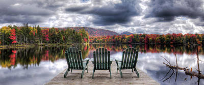 Relishing Autumn Art Print by David Patterson