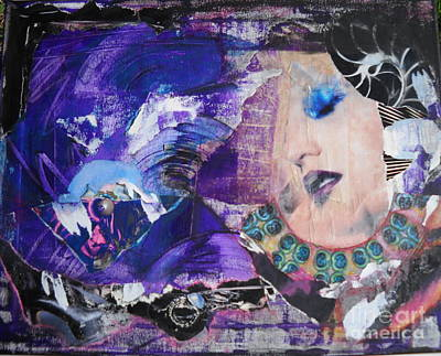 Mixed Media - R.e.m. by Michelle Davidson