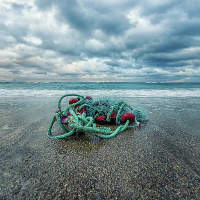 Net Photograph - Remains Of The Day by Stelios Kleanthous