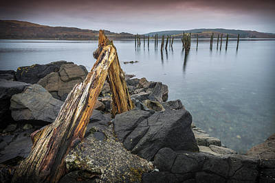 Photograph - Remains Of The Pier by Peter OReilly