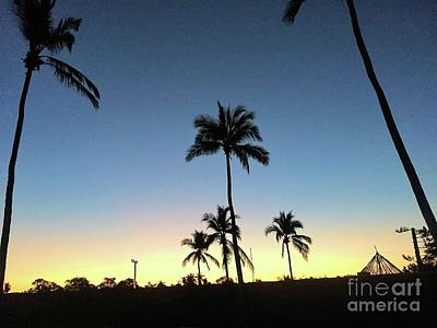 Sunset Photograph - Remanents Of A Storm by Victor K
