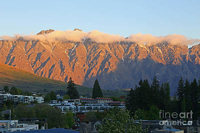 Photograph - Remarkables Sunset by Nareeta Martin