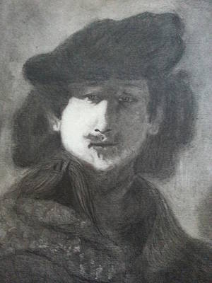 Drawing - Rembrandt by Amelie Simmons