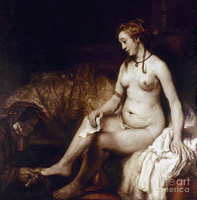 Aodcc Painting - Rembrandt: Bathsheba, 1654 by Granger