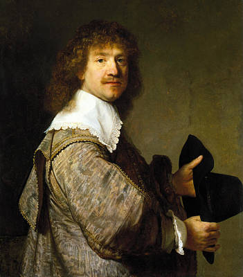 Photograph - Rembrandt: Man, C1637 by Granger