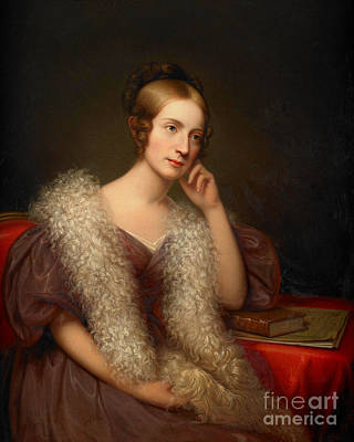 Louisa Painting - Rembrandt Peale by MotionAge Designs