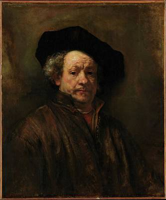 Painting - Rembrandt Self Portrait by Rembrandt van Rijn