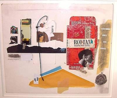 Mixed Media - Rembrandt Van Ridjn Dream Michelangelo by Mykul Anjelo
