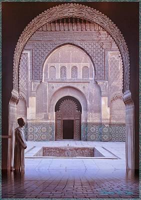 Remember Casablanca Art Print
