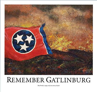 Remember Gatlinburg Poster Original