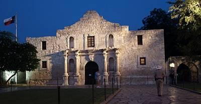 Remember The Alamo Art Print by Dennis Stein
