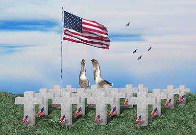Goose Digital Art - Remember The Fallen by Gravityx9  Designs