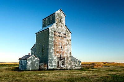 Grain Elevator Photograph - Remember When by Todd Klassy