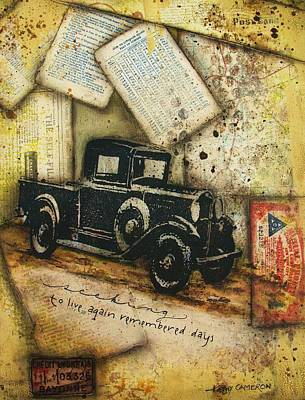Remembered Days Original by Kathy Cameron