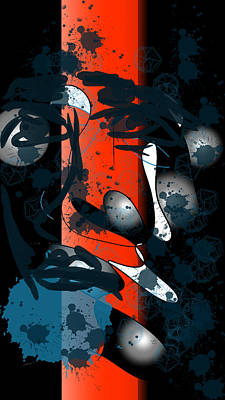 Digital Art - Remembered Moment by Arjun L Sen
