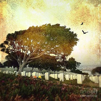 Digital Art - Remembering At Point Loma by Delona Seserman