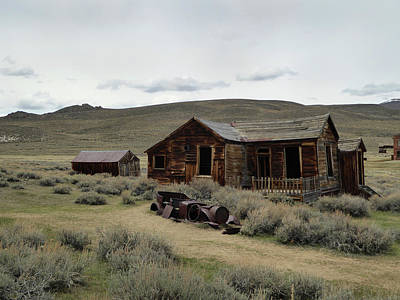 Art Print featuring the photograph Remembering Bodie by Gordon Beck