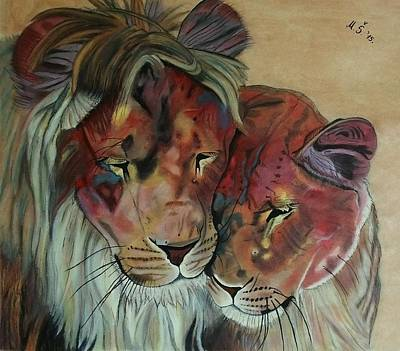 Painting - Remembering Cecil by Melita Safran