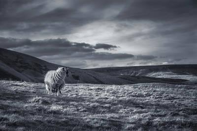 Peak District Photograph - Remembering by Chris Fletcher