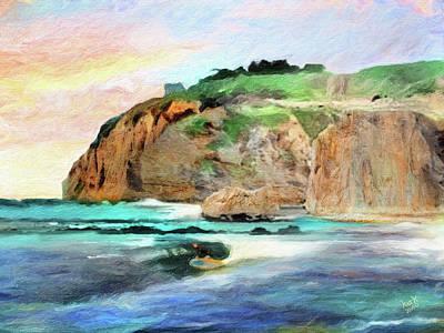 Priska Wettstein Pink Hues - Remembering Dana Point by Patrick J Gallagher