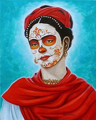 Remembering Frida Art Print
