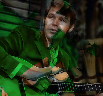 Mixed Media - Remembering Glen Campbell by Marvin Blaine