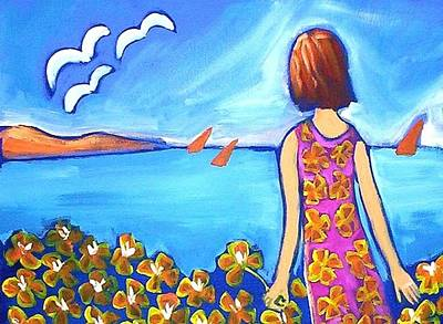 Painting - Remembering Joy by Winsome Gunning