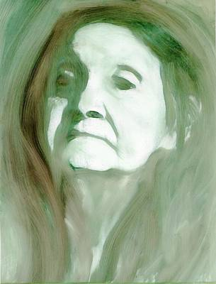 Art Print featuring the painting Remembering by FeatherStone Studio Julie A Miller