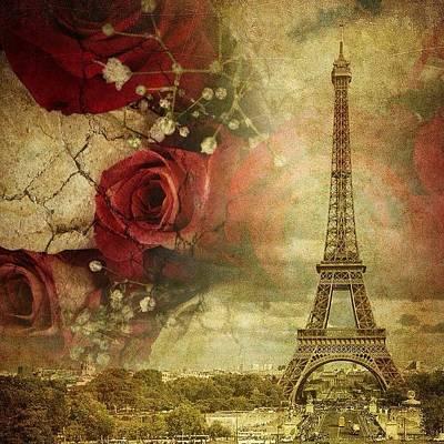 Remembering Paris Art Print