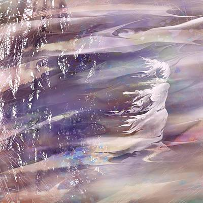 Psychological Digital Art - Remembering by Rachel Christine Nowicki