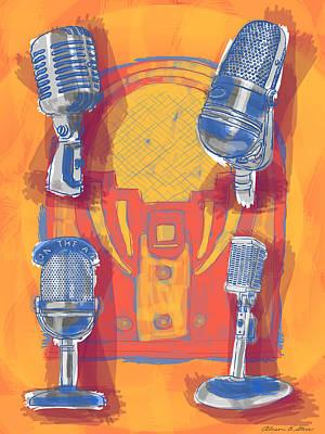 Remembering Radio Art Print