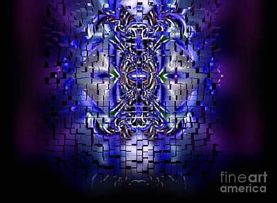 Warrior Goddess Digital Art - Re-membering by Raymel Garcia