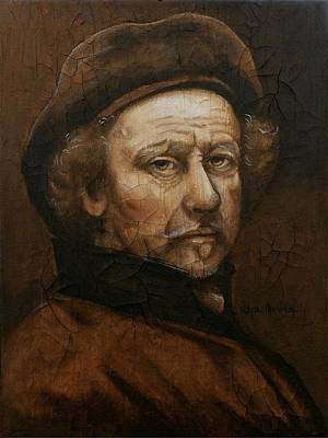 Painting - Remembering Rembrandt by Al  Molina