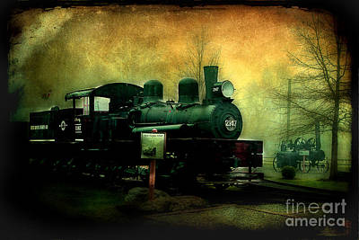 Photograph - Remembering Steam by Michael Eingle