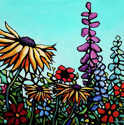Wall Art - Painting - Remembering Summer by Alison Newth