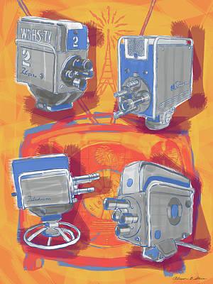Remembering Television Art Print