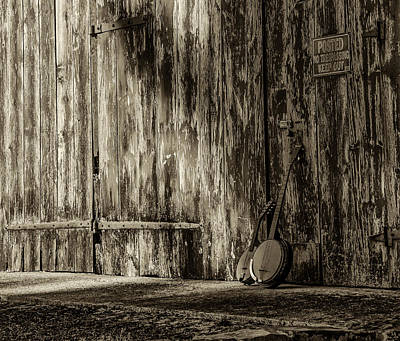 Barn Photograph - Remembering The Good Old Days by Bill Cannon