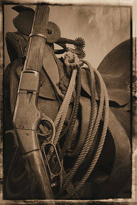Photograph - Remembering The Old West by Scott Kingery