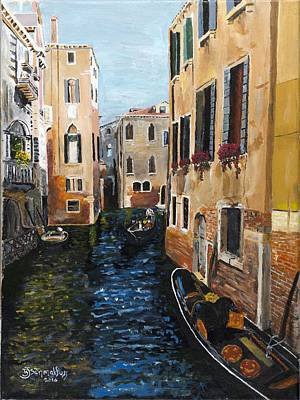 Painting - Remembering Venice by Bruce Schmalfuss