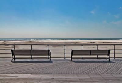 Photograph - Remembering Winter At Jones Beach by Bob Slitzan