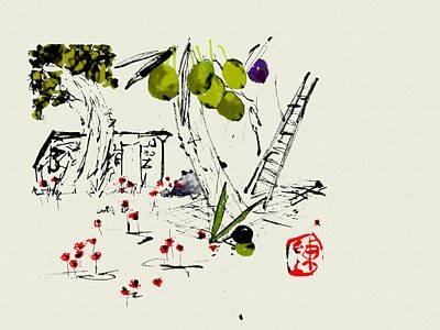 Digital Art - Remembering Youth by Debbi Saccomanno Chan
