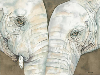 Animal Portrait Painting - Remembrance by Kimberly Lavelle