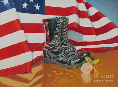 Wall Art - Painting - Remembrance by Tracy Farrand