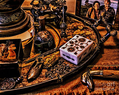 Old Jewelry Box Photograph - Remembrances by Joe Geraci