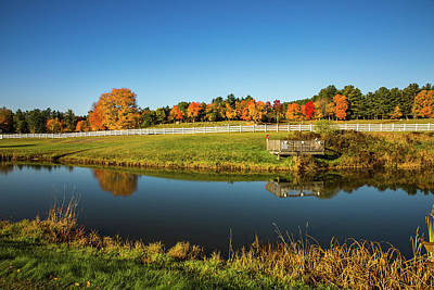 Photograph - Remick Farm by Robert Clifford