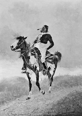 Remington: Comanche, C1890 Art Print